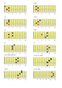 C7-chords-all-possibilities-over-a-blues-212x300 C7 chords all possibilities over a blues
